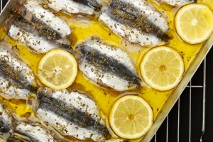 Sardines should be avoided with gout.