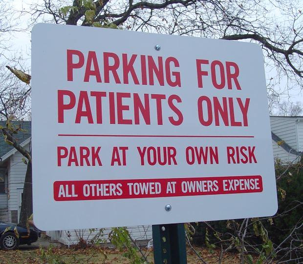 Parking for Gout Patients