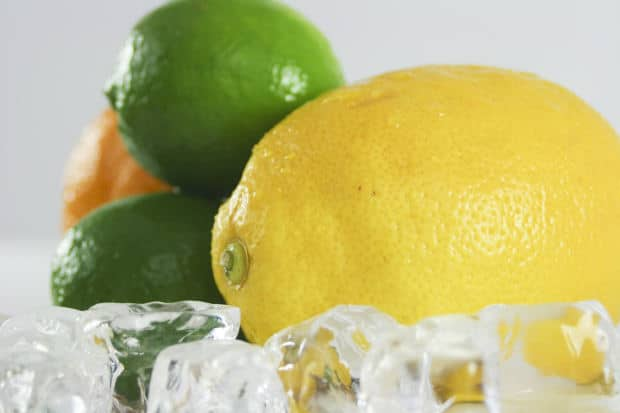 Fresh lemon juice is an excellent gout home remedy.